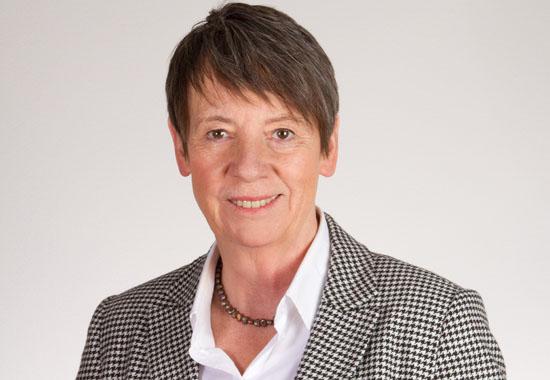 Dr. Barbara Hendricks, Bundesministerin im Bundesministerium für Umwelt, Naturschutz, Bau und Reaktorsicherheit in Berlin. Foto: BMUB/Harald Franzen