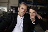 Vater und Sohn: Thomas und Florian Röper von der CCT Logistik GmbH.