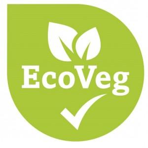 Das Logo des EcoVeg-Siegels.
