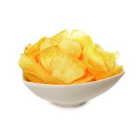 Chips erhalten ihr typisches Aroma oft durch Wild- oder Schweinefleisch.