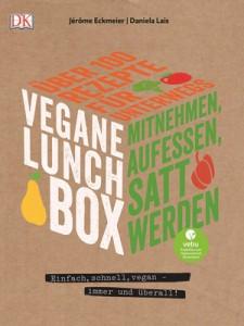 Buchcover Vegane Lunchbox.