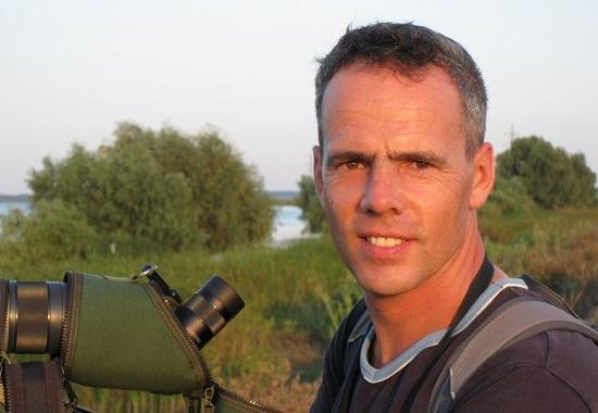 Derk Ehlert, Wildtierexperte des Landes Berlin, von der Senatsverwaltung für Stadtentwicklung und Umwelt.