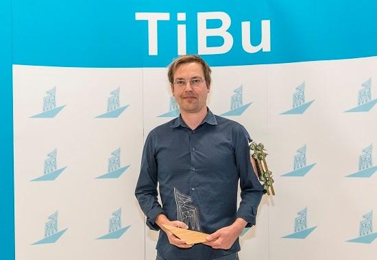 Christian Rohde erhält den TiBu.