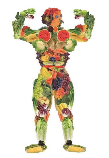 Steht die gesamte Gemüse-, Obst- und Getreidepalette auf dem Speiseplan, profitiert der Körper von den verschiedenen Nährstoffgehalten der Pflanzen.