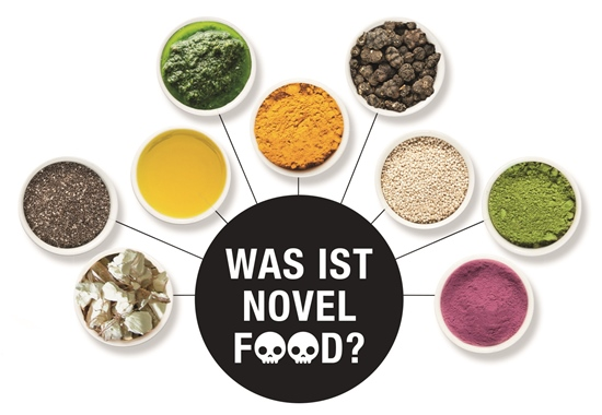 Die Schalen beinhalten sogenanntes Novel Food. Manche neuartigen Lebensmittel werden aus Marketinggründen auch als Superfood bezeichnet. Viele Herstellerfirmen führen für jene Lebensmittel Tierversuche durch, um ihre Produkte gewinnbringender zu vermarkten.