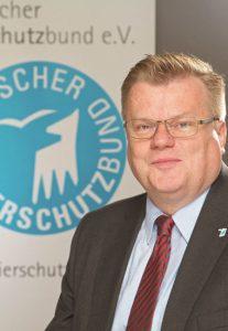 Thomas Schröder, Präsident des Deutschen Tierschutzbundes.