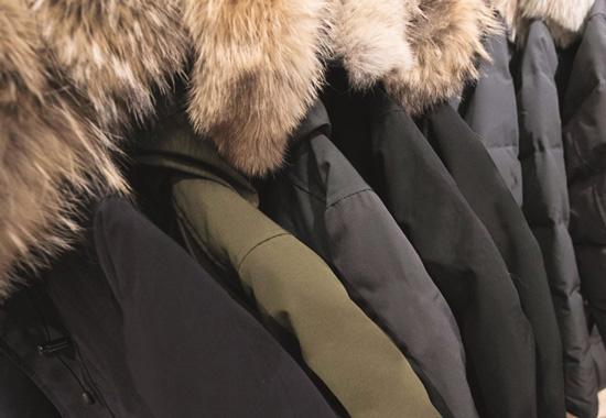 """Zahlreiche Jacken im deutschen Handel sind mit echtem Pelz """"verziert""""."""
