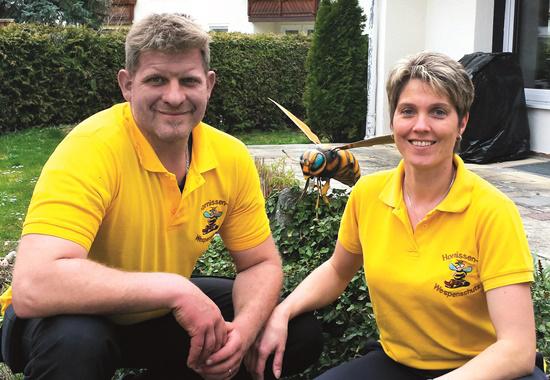 Jan Erik Ahlborn und Bettina Thauer setzen sich für Wespen ein und haben sich zur Aufgabe gemacht, über die Bedeutung der so wichtigen Insekten aufzuklären.