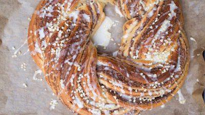 Ein Hefezopf macht sich auch auf der Ostertafel gut und ist eine leckere Grundlage für ein süßes Frühstück.