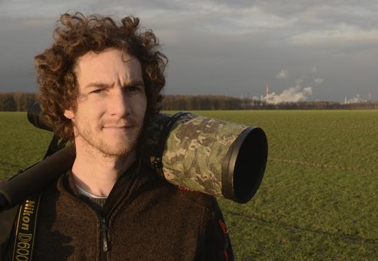 Tierfotograf Sven Meurs hat sich darauf spezialisiert, Wildtiere zu fotografieren, die in Großstädten leben.