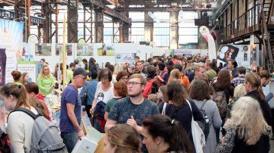 Zahlreiche Besucher kamen zur VeggieWorld nach Düsseldorf.