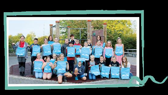 Die 5a der Gesamtschule Waldbröl im Schuljahr 2018/2019.