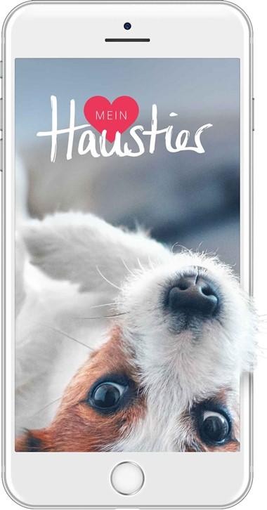 """""""Mein Haustier"""" - Die neue App des Deutschen Tierschutzbundes."""