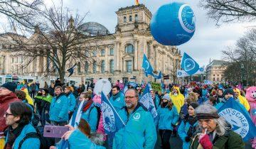 Demo Wir haben es satt 2019 in Berlin