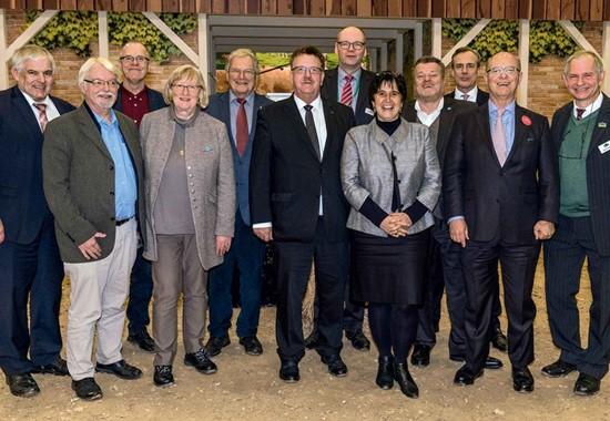 Prominente Gäste beim NEULAND-Empfang auf der IGW 2019