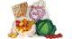 Unser Aktionspaket enthält unter anderem ein Mini-Kochbuch, einen Kochlöffel und einen Obst- und Gemüsebeutel.