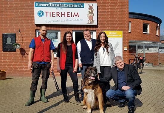 Der Bremer Tierschutzverein feiert sein 125-jähriges Bestehen.