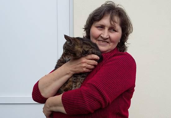 Carola Mälzer vom Tierschutzverein Güstrow und Umgebung