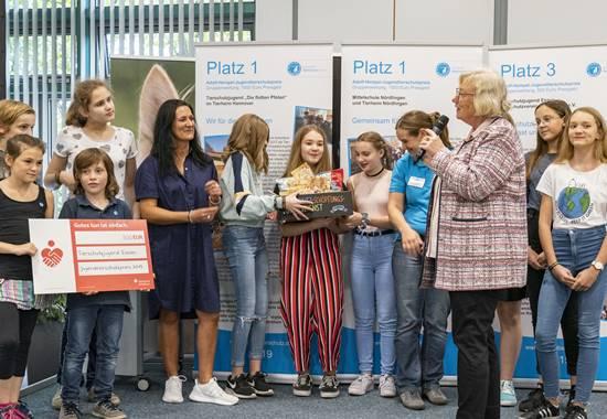 Dritte Preisträger des Adolf-Hempel-Jugendtierschutzpreises 2019: Tierschutzjugend Essen