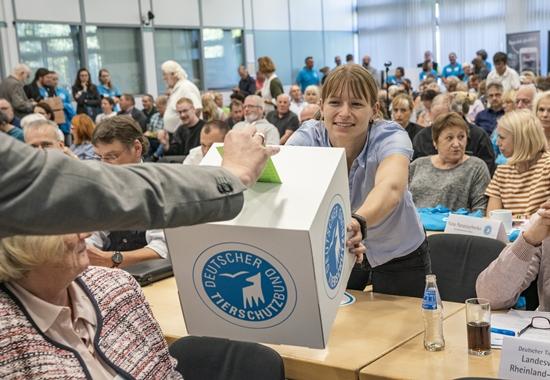 Bei der Mitgliederversammlung wählten die Delegierten das Präsidium neu.