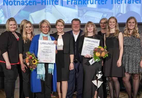 Preisverleihung Sonderkategorie beim Deutschen Tierschutzpreis 2019