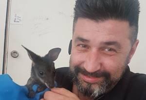 Marcus Barke von der Dogman Tierhilfe in Australien