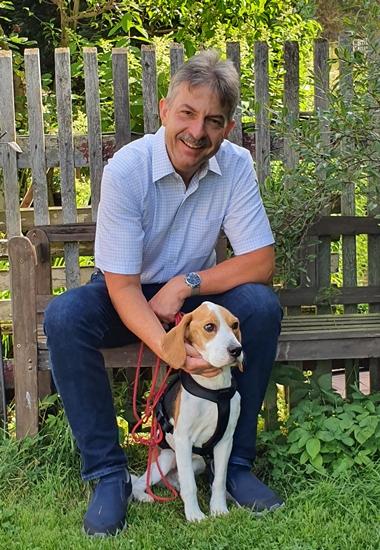 Michael Sperlich, Geschäftsführer des Ersten Freien Tierschutzvereins Leipzig und Umgebung.